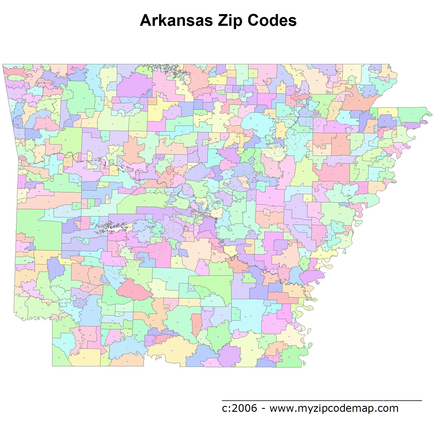 rogers arkansas zip code map Arkansas Zip Code Maps Free Arkansas Zip Code Maps rogers arkansas zip code map