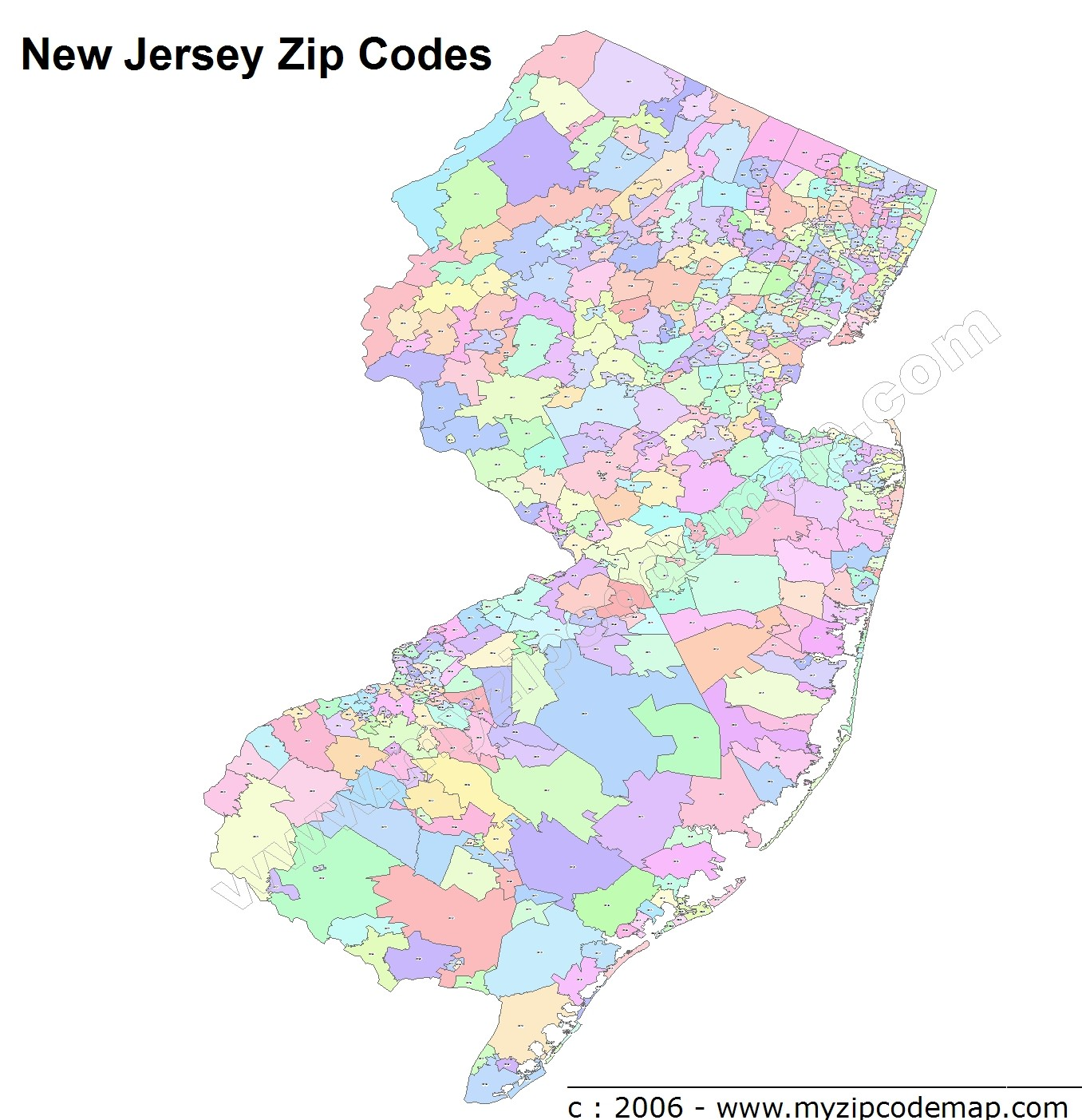 Somerville Zip Code Map.New Jersey Zip Code Maps Free New Jersey Zip Code Maps